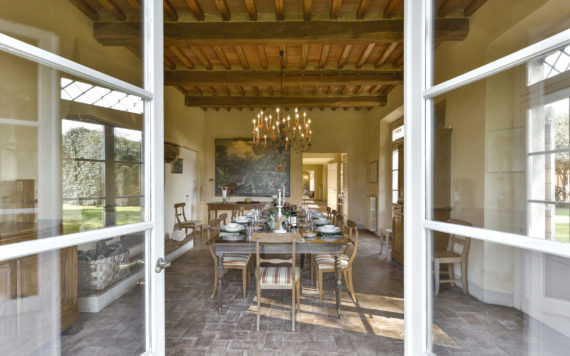 Moscatello Villa Vigna - Dining room